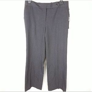Calvin Klein Pants Gray Classic Fit Womens NWT -4